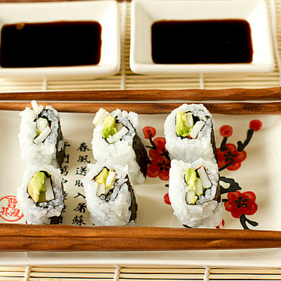 California Rolls (including Sushi Rice)