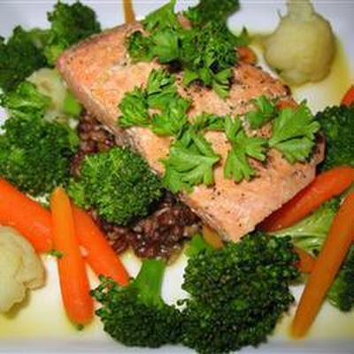 Pan-Fried Orange Salmon