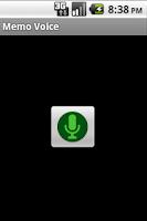 Screenshot of Memo Voice