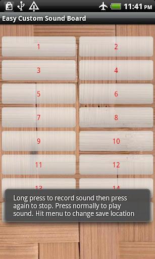 Easy Custom Soundboard