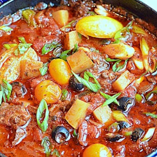 ~beef Potatoes & Tomatoes~