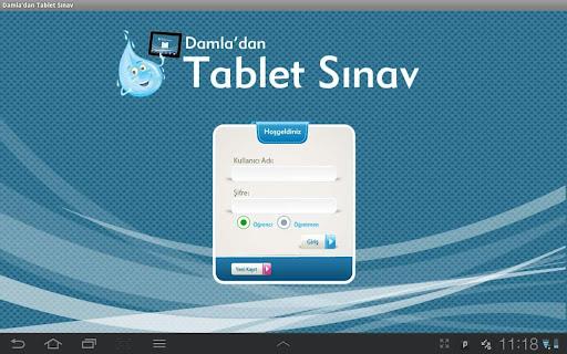 Tablet Sınav