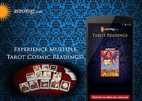 Screenshot of TAROT READINGS