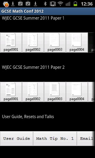 GCSE Maths HT WJEC June 2011