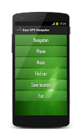 Screenshot of Easy GPS Navigation PRO