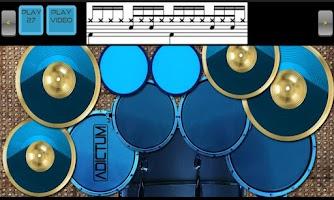 Screenshot of Adictum Drum Lessons - Free