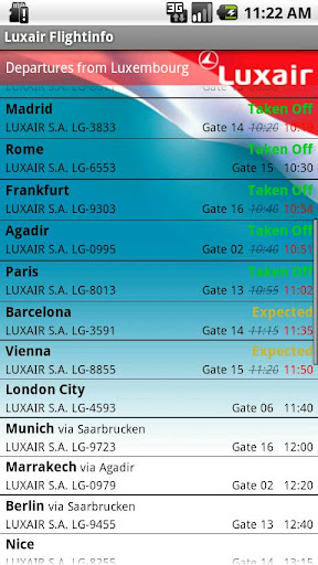 Luxair for Android