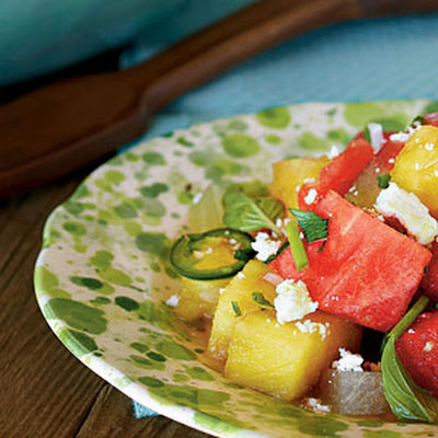 Southwest Watermelon Salad