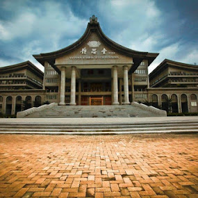 Tzu chi building by Andrial Kusuma - Buildings & Architecture Places of Worship ( building, jakarta, tzu chi )