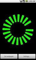 Screenshot of Battery Life Live Wallpaper