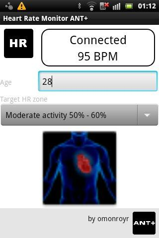 Heart Rate Monitor Ant+