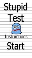 Screenshot of Stupid Test!