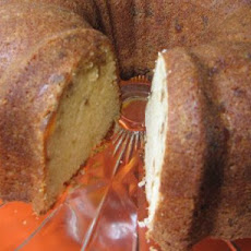 Candied Ginger Pound Cake With a Hint of Orange