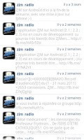 Screenshot of ZJM Radio