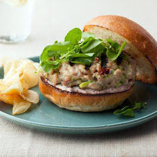 Tuna Burgers with Tapenade Aioli