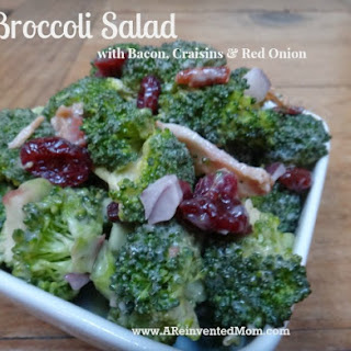 Broccoli Craisin Bacon Salad Recipes