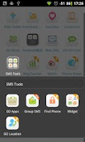 Screenshot of GO SMS Group sms plug-in 2