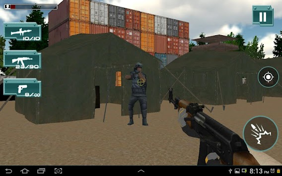 COMMANDO COUNTER STRIKE:ATTACK APK screenshot thumbnail 1