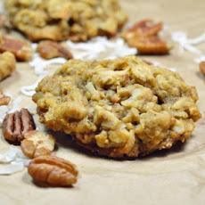 White Chocolate Pumpkin Pecan Oatmeal Cookies Recipe | Yummly