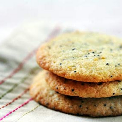 Orange Poppy Seed Cookies