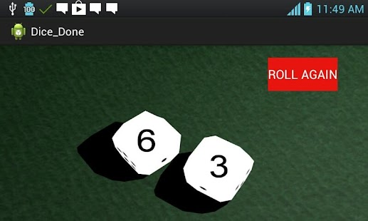 Shake It Dice Roller- screenshot