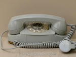Desk Phones - Western Electric 702B Gray Princess