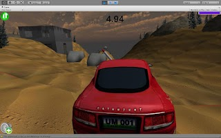 Screenshot of Sahara Race