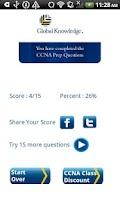 Screenshot of CCNA Exam Prep Questions