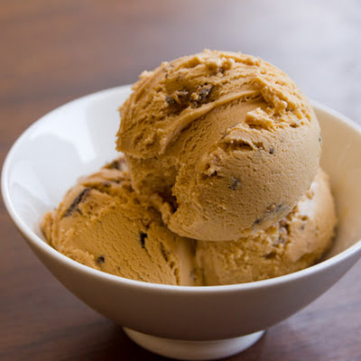 Dulce de Leche Ice Cream with Samoas