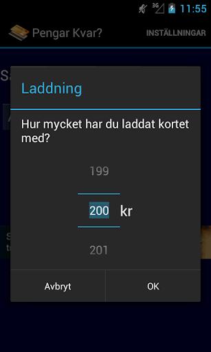 【免費生產應用App】Pengar Kvar?-APP點子