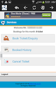 Screenshot of IRCTC Railway Booking Online