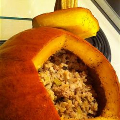 Stuffed Pumpkin I