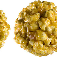 Curry-Coconut Popcorn Balls Recipe