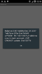 Check Prepaid Balance - screenshot