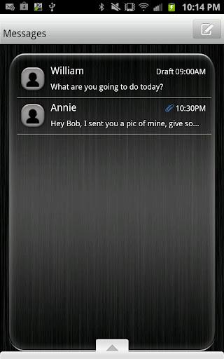 GO SMS - Dark Array