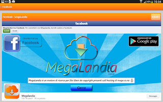 Screenshot of MegaLandia