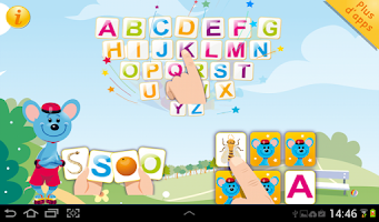 Screenshot of ABC Rigolo - Grandes Lettres