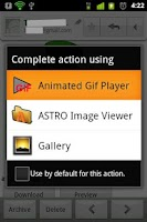 Screenshot of GIF Animation Player