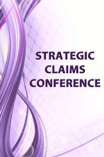 Strategic Claims Conference - screenshot
