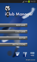 Screenshot of iClub Manager