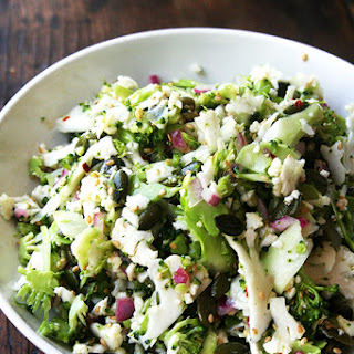 Broccoli Cauliflower Salad With Cranberries Recipes