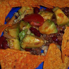 Kidney Bean Taco Salad