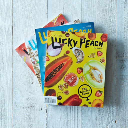 Lucky Peach, One Year Subscription