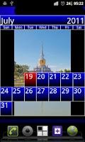 Screenshot of Expose Calendar Widget Beta