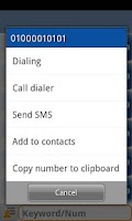 Screenshot of MN Phone-Quick/Smart Dialer