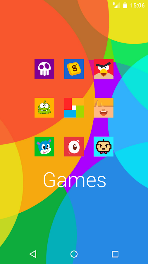 Goolors Square - icon pack Screenshot 4