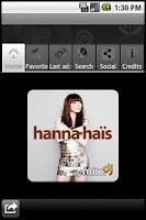 Screenshot of Hanna Haïs by mix.dj