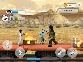 Screenshot of Sholay: Bullets of justice