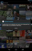 Screenshot of SanDisk Wireless Flash Drive
