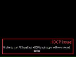 Screenshot of Wifi Display (Miracast)